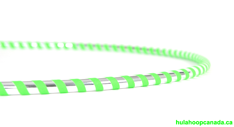 Silver and Green - Ninja Hoop $48