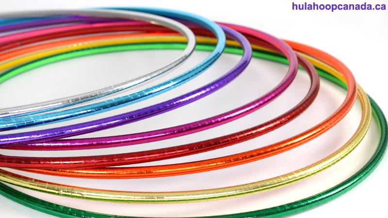 Single colored metallic hoops - Air Hoops $43